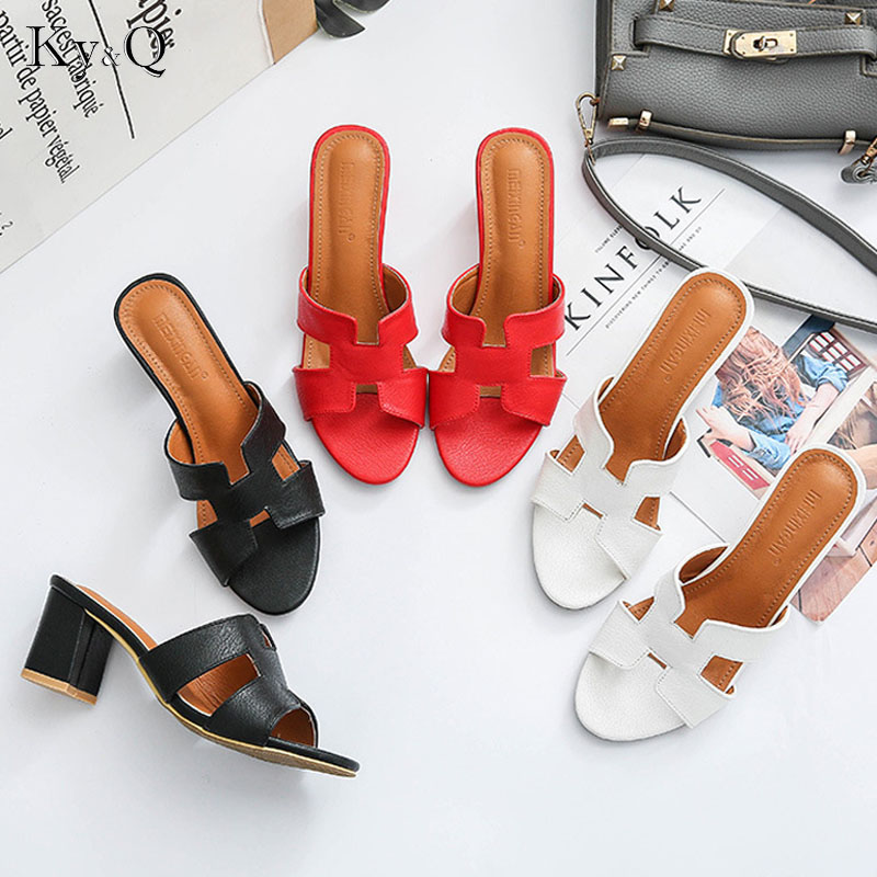Drop Shipping Summer Sandal Flip Flops Shoes for Women New Arrival Thick Heels Sandals Casual Russian ShoesDrop Shipping Summer Sandal Flip Flops Shoes for Women New Arrival Thick Heels Sandals Casual Russian Shoes