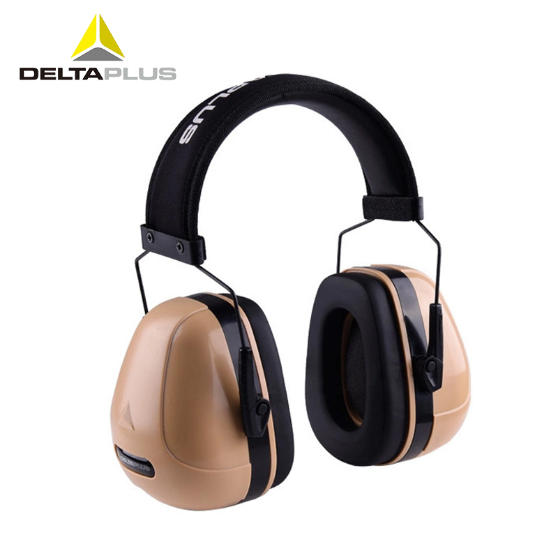 Deltaplus Noise-proof Earmuffs Hearing Protection Soundproof Anti-noise Ear muff Working Sleeping Study Ear Protectors SNR32dB 3m 1426 earmuffs noise soundproof ear protectors reduction noise economic type comfortable ear muff for travel sleep study work