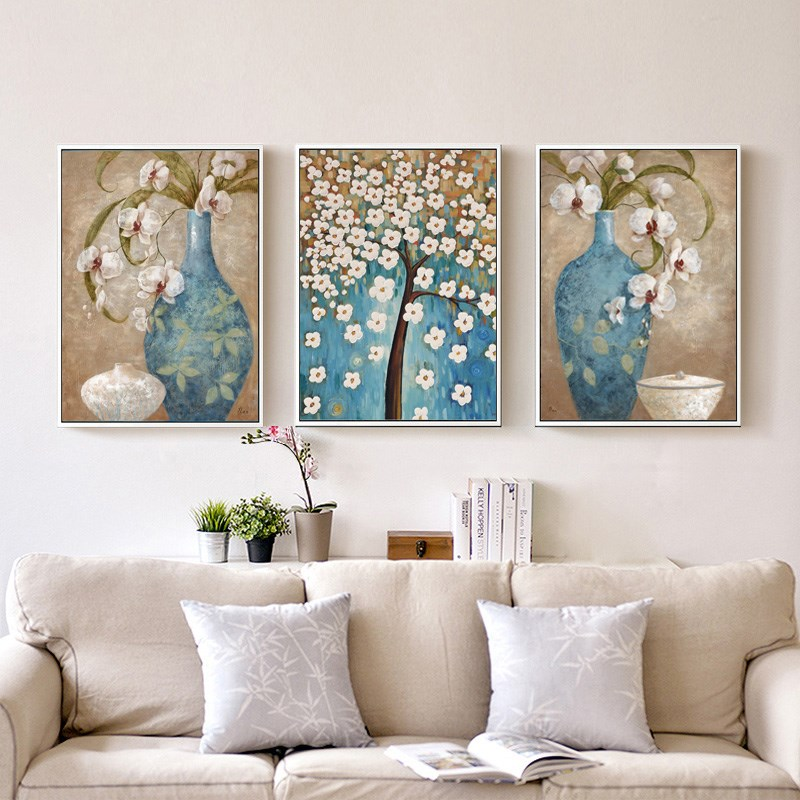 Aliexpress Buy 3 Panels Paintings For Bedroom Hotel Wall Decor