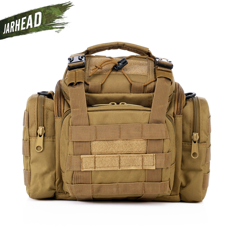 Plein air hommes Camouflage Camping caméra sac multi-fonctionnel Super magique tactique poches chasse pêche taille sac