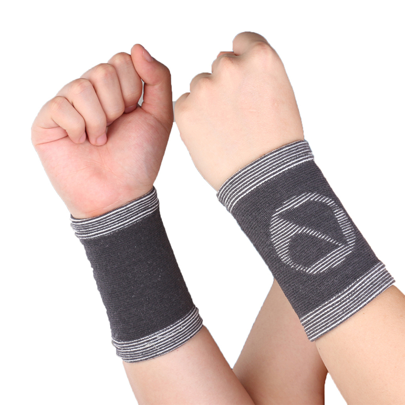 1 Pair Mumian A31 Bamboo Sports Wrist Sleeve Brace Support Arthritis Relief Protector S/M/L