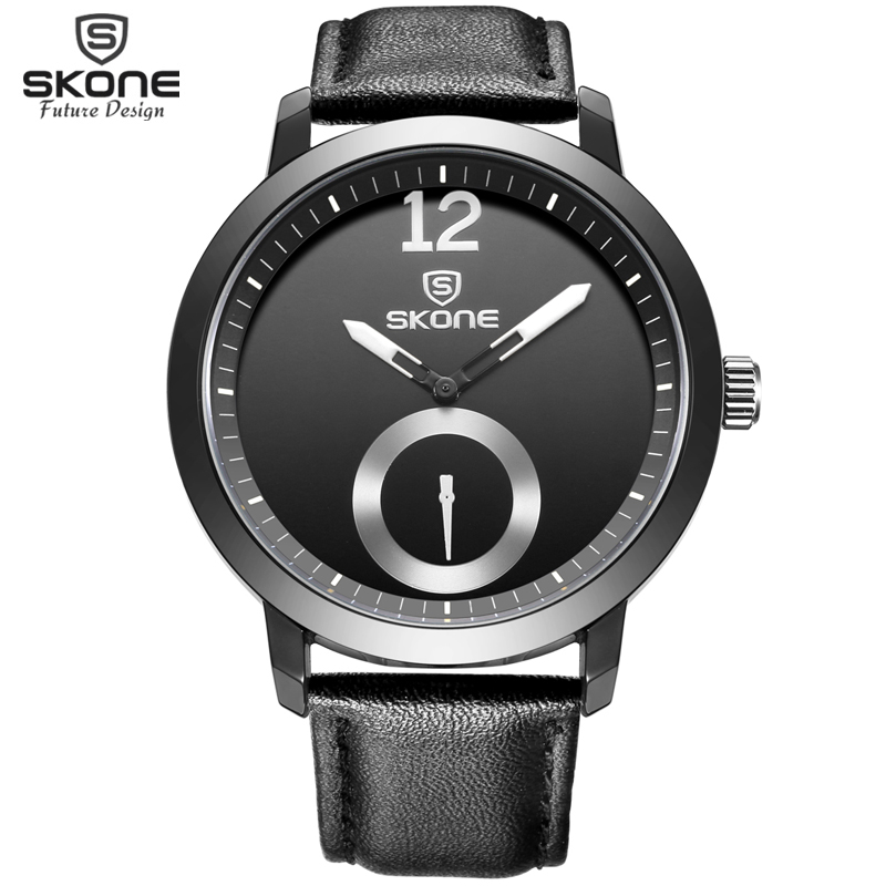 Future Design SKONE Mens Brand Watches Leather Strap Quartz-watch Casual Watch Man Water Resistant Wristwatch relogio masculinoFuture Design SKONE Mens Brand Watches Leather Strap Quartz-watch Casual Watch Man Water Resistant Wristwatch relogio masculino