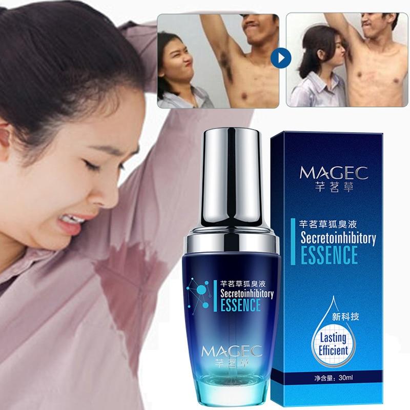 Top Luxury Best Hot Sale Underarm Hircismus Cleaner Spray Antiperspirant Deodorant Body Spray Body Odor Removal 30ml