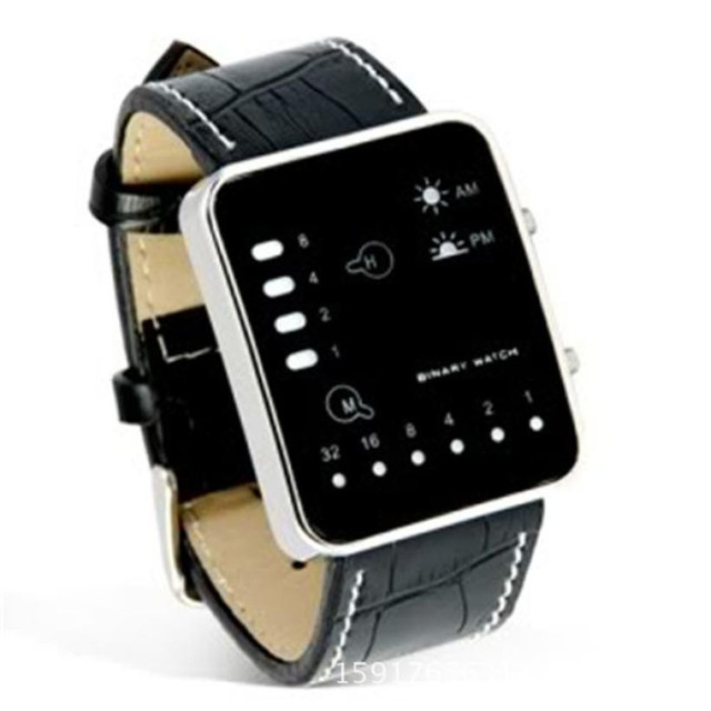 Unisex Sports Watch with Square Dial