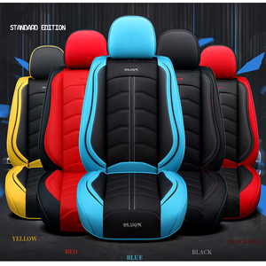Image 5 - KADULEE luxury leather car seat covers for dodge caliber caravan journey nitro ram 1500 intrepid stratus of 2018 2017 2016 2015