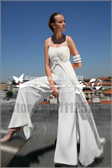 Awp 1020 New Styal Beautiful Bridal Pant Suits Wedding Jumpsuit