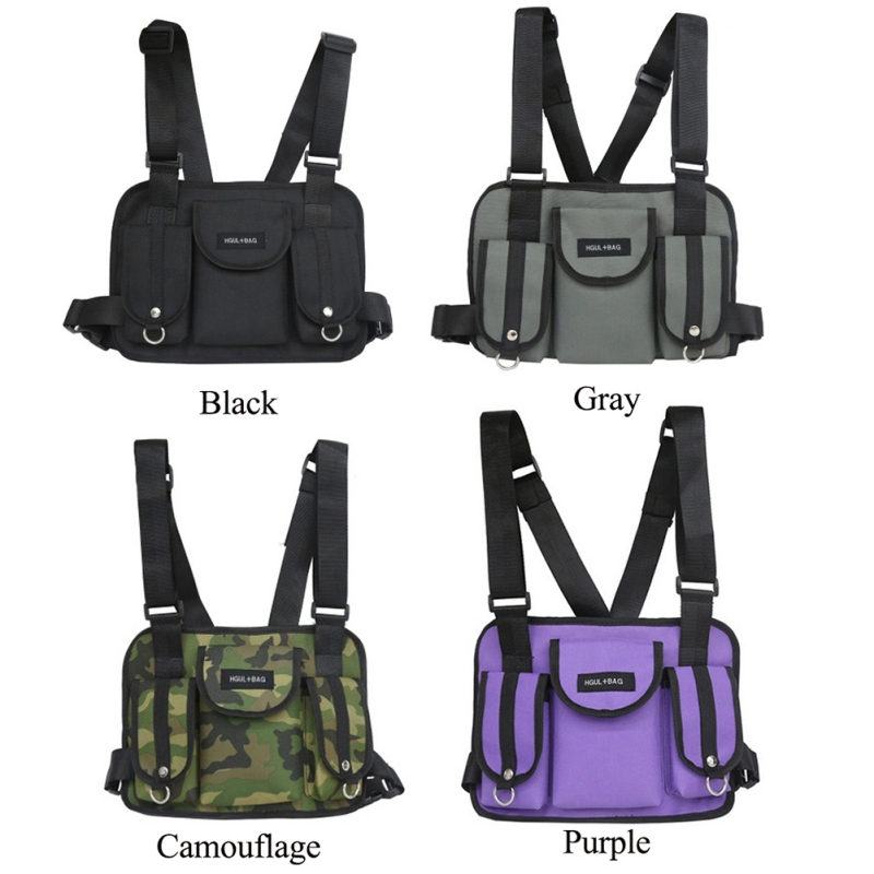 Chest Rig Waist Bag Hunting Functional Tactical Chest Bag Cross Shoulder Bags Second-class Armored Bag Outdoor Hunting Pack car seat