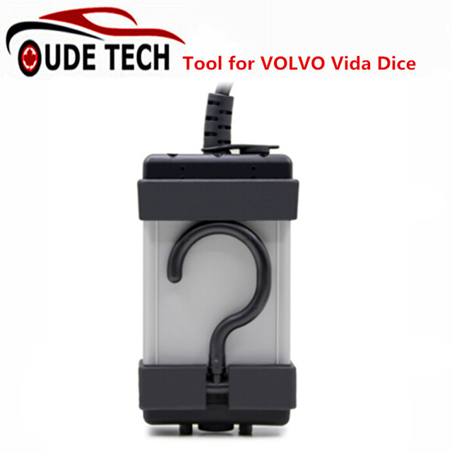 Full Chip For VOLVO VIDA DICE 2014D Dice Pro OBDII Car Diagnostic Tool Supports J2534 Protocol