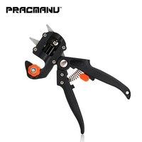 PRACMANU Grafting machine Garden Tools with 2 Blades Tree Grafting Tools Secateurs Scissors grafting tool Cutting Pruner   -