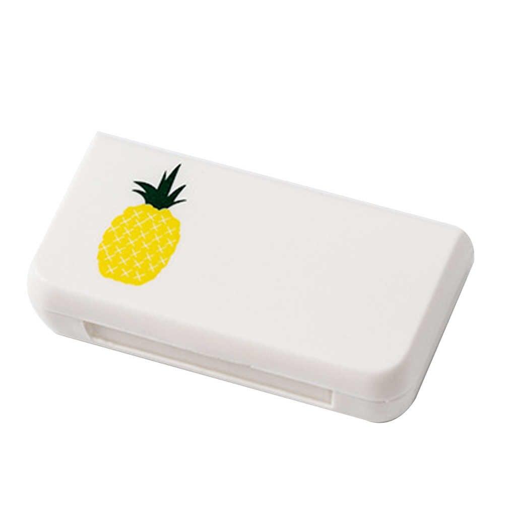Mini portátil Caso Pílula Caixas de Pílulas 3 Grades Casa de Viagem Casa Recipiente Titular Caixa De Armazenamento De Casos