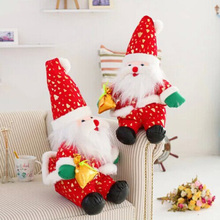 New Cute Cartoon Santa Claus doll Christmas doll Christmas gift activity gift baby toys