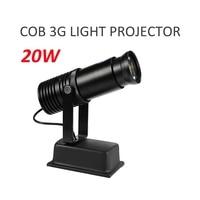 Logo LED Light Projector 20W Custom Made Logo Lens Retail Shop Advertising Indicate Sign Party Disco KTV