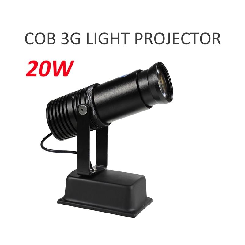 Logo lumière LED projecteur 20 W personnalisé Logo lentille magasin de détail publicité indiquer signe partie Disco KTV