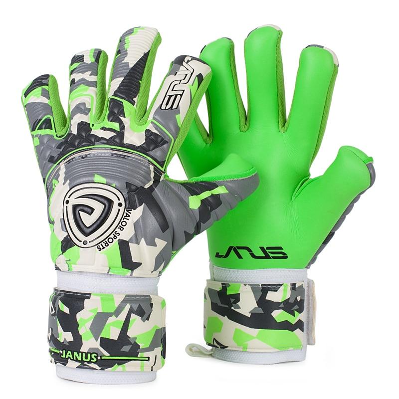 Guantes de portero profesionales al aire libre y guantes de portero de látex espesados de 4mm guantes de portero de fútbol