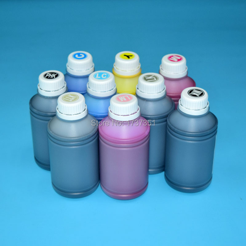 9 color 500ml pigment ink for Epson Stylus photo R3000 printer epson stylus photo r800 printer ink