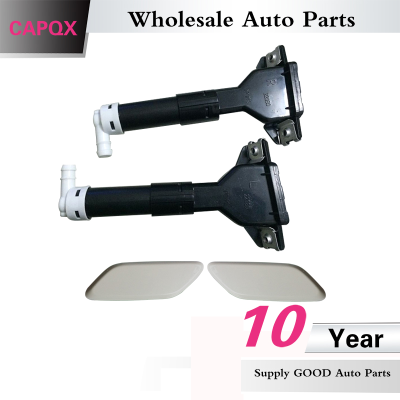 Generous Capqx Front Headlamp Headlight Washer Nozzle Actuator & Cover Cap Spray Jet Housing House For Honda Crv Cr-v 2012 2013 2014 Re1 Famous For High Quality Raw Materials And Great Variety Of Designs And Colors Full Range Of Specifications And Sizes