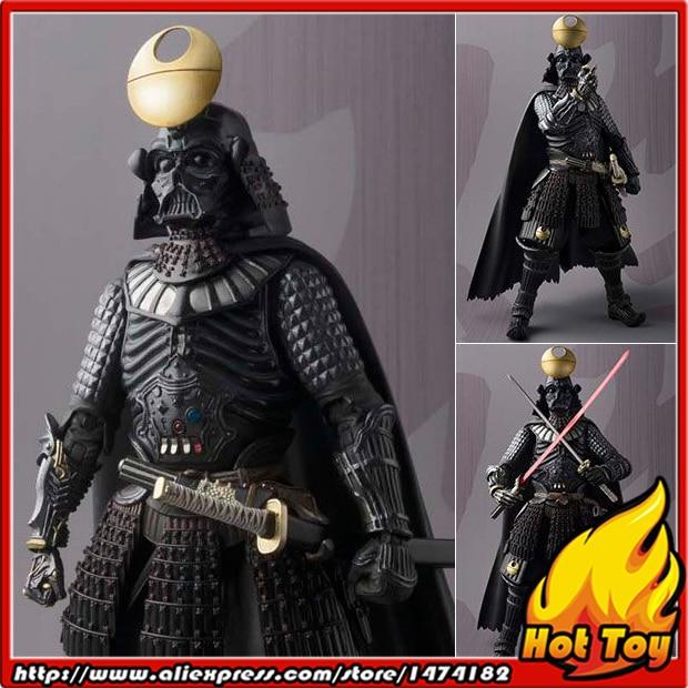 цена на Original BANDAI Tamashii Nations Meisho MOVIE REALIZATION Action Figure - Samurai Taisho Darth Vader -Shiseigusoku-