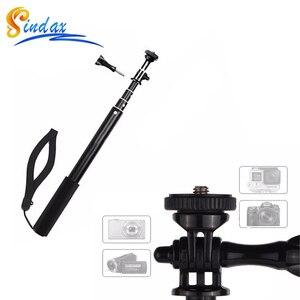 Image 2 - Wasserdicht Einbeinstativ Stativ Erweiterbar Einbein Selfie Stick Einbeinstativ für xiaomi yi 4k II 2/für SJ4000 für Gopro hero 8 5 6 7
