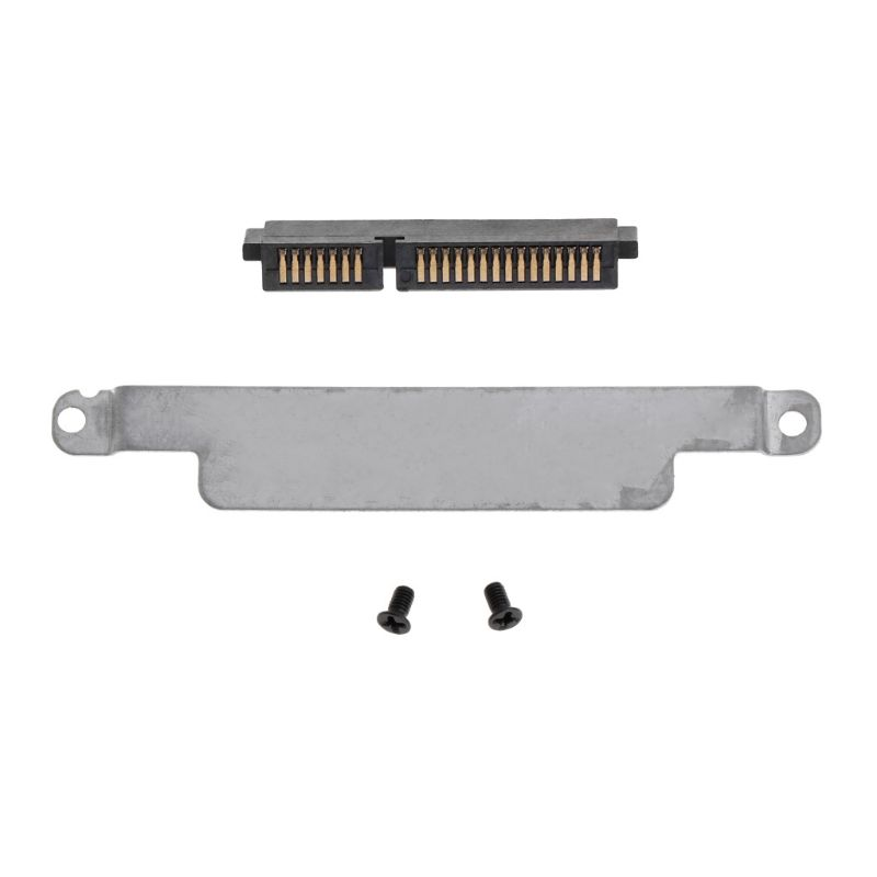 1 Set HDD Caddy Bracket Hard Drive Cover Adapter Connector Laptop Accessory Screw For DELL E6230