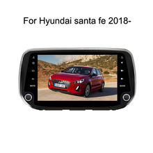 Android 8,0 Octa Core PX5/PX3 Fit hyundai santa fe 2018 2019 dvd-плеер навигационная gps радио