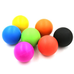 Silicone yoga ball lacrosse balls trigger point massage and myofascial release good for stress therapy crossfit.jpg 250x250