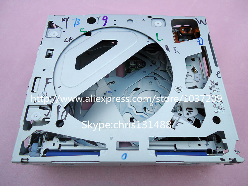 original parts 6 cd changer mechanism for opel corsa dvd. Black Bedroom Furniture Sets. Home Design Ideas