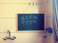 New Arrival Free Shipping Green Board With Magnetic Wooden Frame Memo Board Message Board 60 40cm