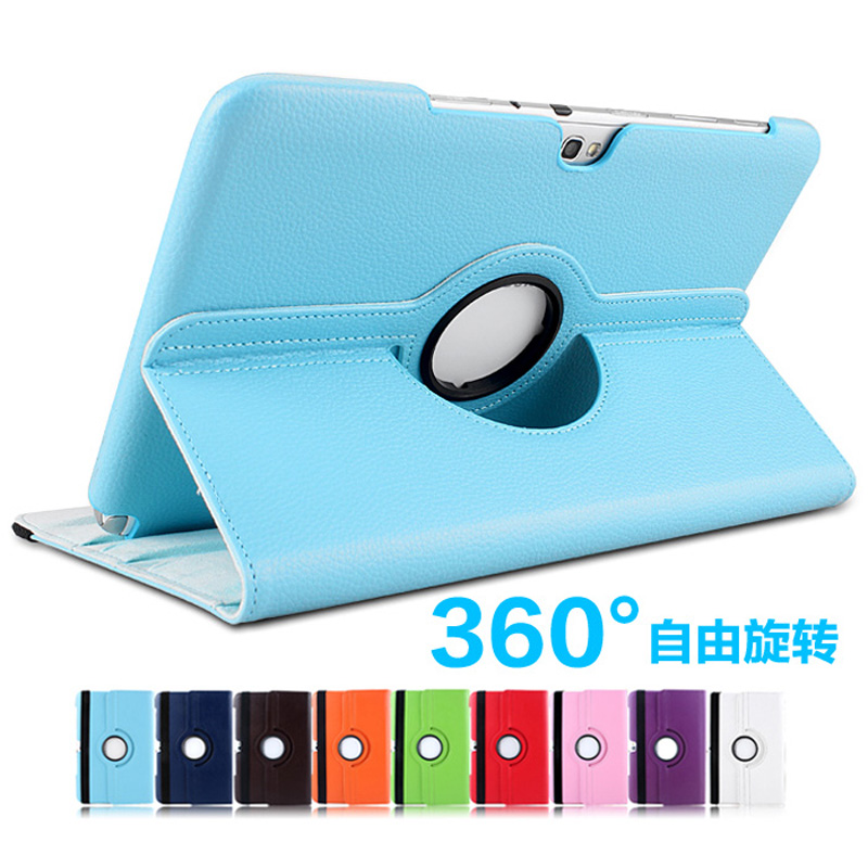 360 Degree Rotating Litchi Grain Folio Stand PU Leather Cover Case For Samsung Galaxy Note 10.1 GT-N8010 N8020 N8013 N8000 10.1 tablet case for samsung galaxy note 10 1 n8000 n8005 n8010 n8013 case cover couqe hulle funda shell custodie