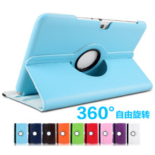 360 Degree Rotating Litchi Grain Folio Stand PU Leather Cover Case For Samsung Galaxy Note 10.1 GT-N8010 N8020 N8013 N8000 10.1″