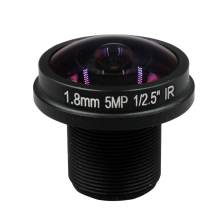 HD 5MP cctv lens 1.8MM M12 mount fisheye lens for IP video surveillance camera wide angle cctv lenses