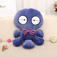 creative toy about 60cm cartoon octopus plush toy blue octopus soft throw pillow toy birthday present Xmas gift c890