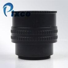 M42 to M42 montaj Lens ayarlanabilir odaklama Helicoid 25 55mm makro tüp adaptörü 25mm 55mm