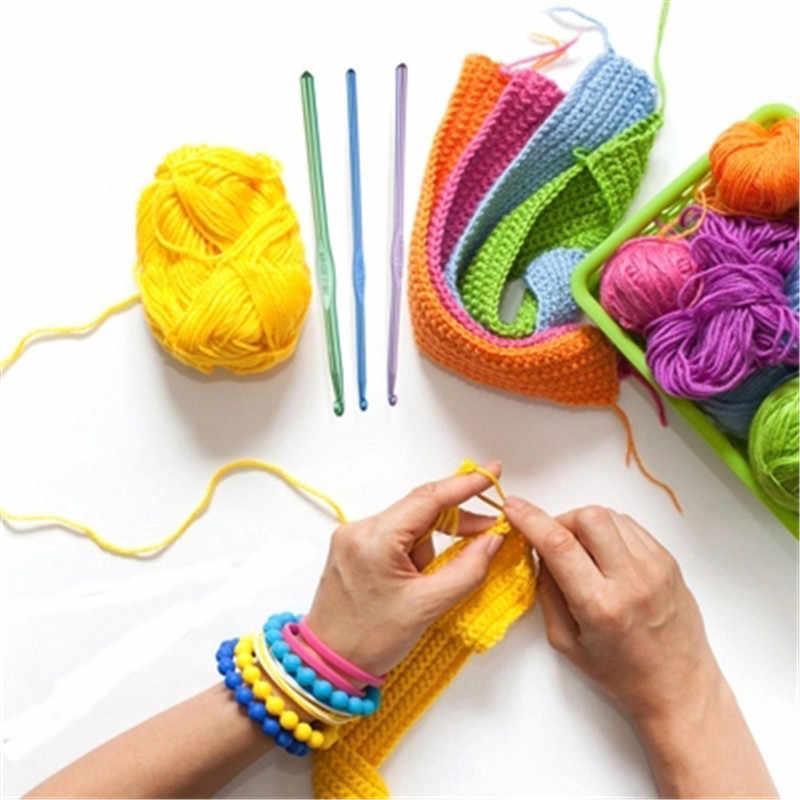 Detail Feedback Questions About 100pcs Aluminium Crochet Hooks