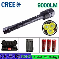 Z30-LED-Flashlight-CREE-XM-L-3T6-Power-9000Lumen-5-Mode-Torch-3-18650-battery-and