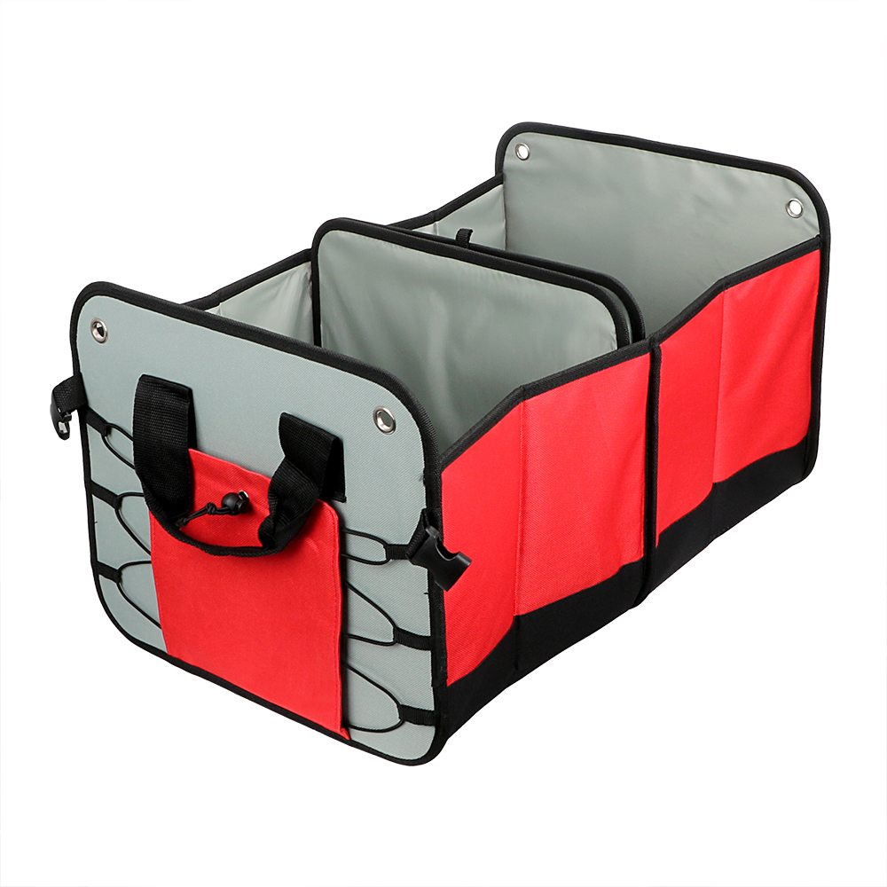 Car Trunk Organizer Auto Rear Storage Pouch Folding Seat Back Tool Bag Space Saving Stowing Tidying for SUV Truck Minivan RV aumohall car multi pocket organizer large capacity folding storage bag trunk stowing and tidying