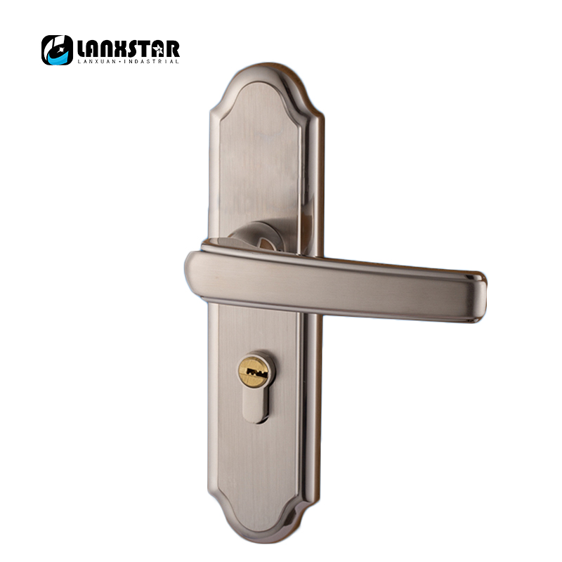 European Luxury Design Interior Room Door Solid Wood Dedroom Doors Handle Lock european modern bronze doors handle chinese antique glass door handle door handle carving