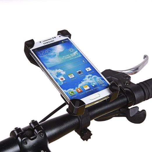2017 ajustable universal de bicicletas soporte para teléfono para samsung para i
