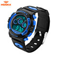 Children Digital Watch Kid Boy Girl Outdoor Baby Sport Watch LED Silicone Alarm Stopwatch Wristwatch Fashion Shock HOSKA H001