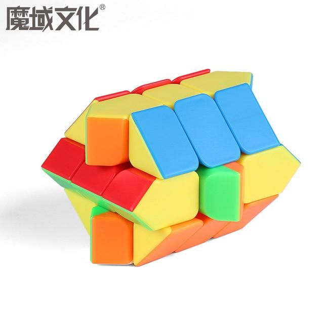 Moyu Meilong MoFangJiaoShi 3x3 Windmill Axis Fisher Magic Cube 3x3x3 Puzzle Twist Educational Kid Toys Games 4