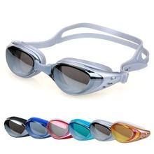 Swim Glasses Silicone Waterproof Anti-fog Diopter Swimming Glasses Adult UV Prescription Swimming Goggles Men Women Eyewear гель для душа organic therapy агент