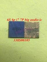 10 pièces/lot 338S00105 grand anneau audio IC puce pour iPhone 6s 6s plus 7 7plus