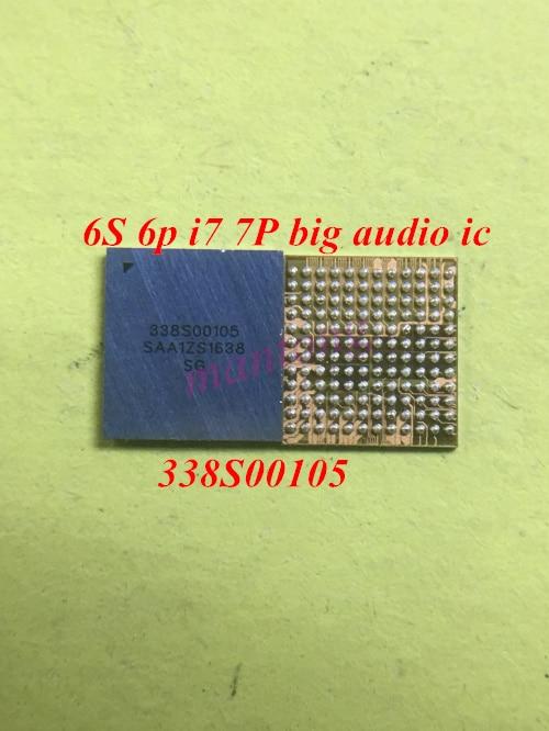 10pcs/lot 338S00105 big ring audio IC chip for iPhone 6s 6s-plus 7 7plus