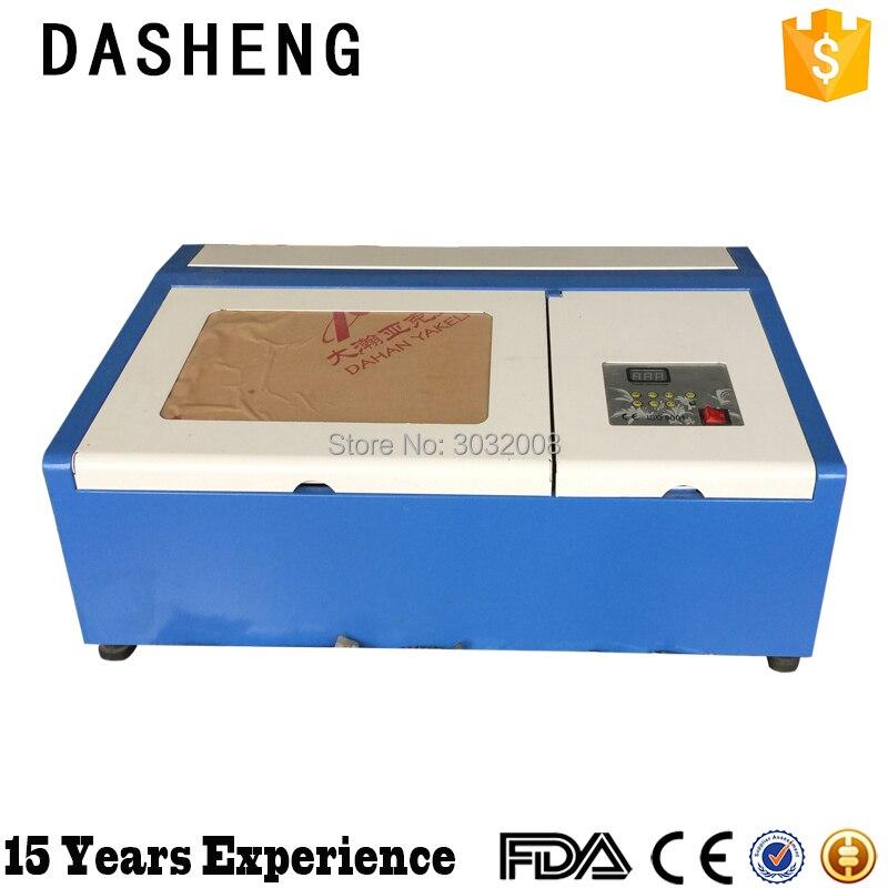 Hot cnc 40W laser acrylic letter cutting machine co2 acrylic engraving laser