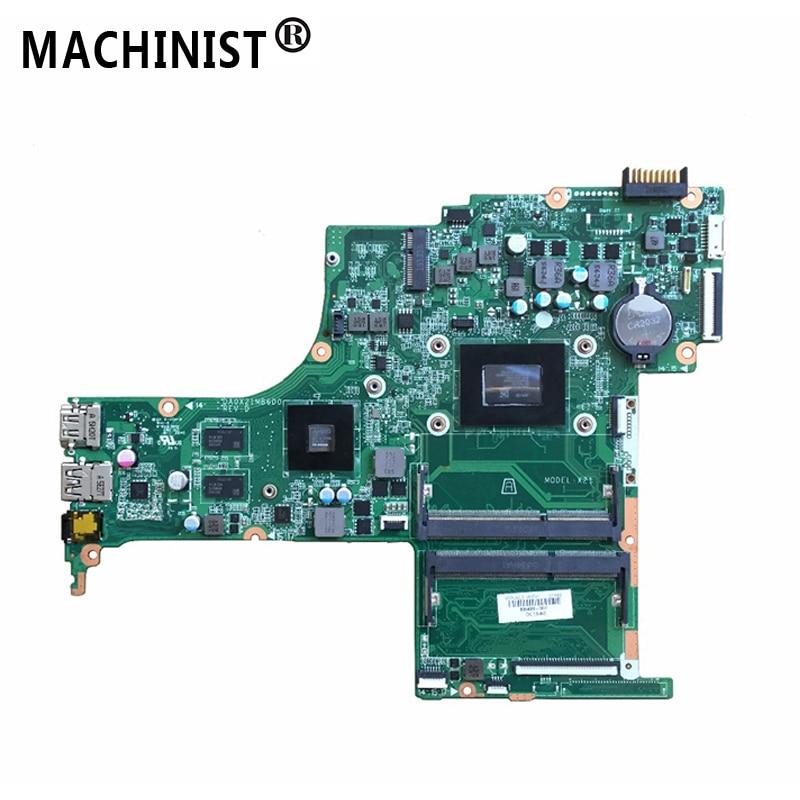 For HP pavilion 15-AB 15Z-AB laptop motherboard A10-8700P CPU R7 M360 2GB GPU 809408-501 809408-601 809408-001 DA0X21MB6D0