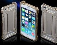 Алюминиевый Чехол Для Телефона iPhone 6 6S открытый горный скалолазание металлическая защитная крышка сейсмостойкость падение 6 Plus 6S плюс R