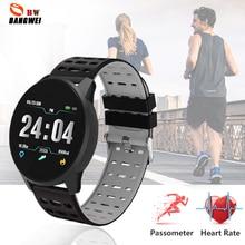 LIGE 2019 New Fitness Smart Bracelet Women LED Waterproof display Call Reminder Tracker Sport Watch Men Relogio