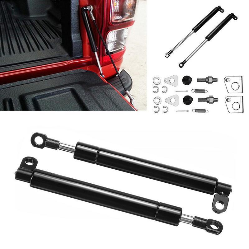 2pcs Rear Tailgate Support Oil Damper Strut Slow Down Trunk Lids Shock Strut Damper Lifter For PX Ranger Mazda BT-50 Easy Up(China)