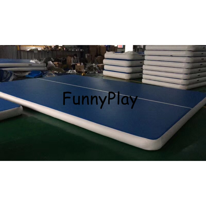 <font><b>Kids</b></font> training inflatable air track gymnastic air tumbling mattress Inflatable <font><b>Gymnastics</b></font> Track Air Board Air Block image