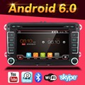 Android 6.0 car dvd player gps navigation for skoda vw yeti superb rapid fabia octavia car video player radio gps 2 din
