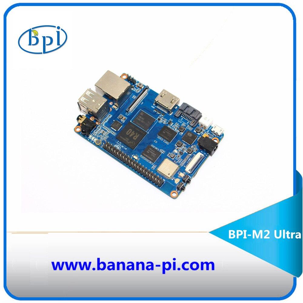 2gb of ram octa core bpi m3 banana pi m3 single board computer&development board with emmc wifi bt module on board Quad Core R40 Allwinner chip Banana Pi M2 Ultra Development board with WIFI&BT4.0,EMMC Flash memory on board